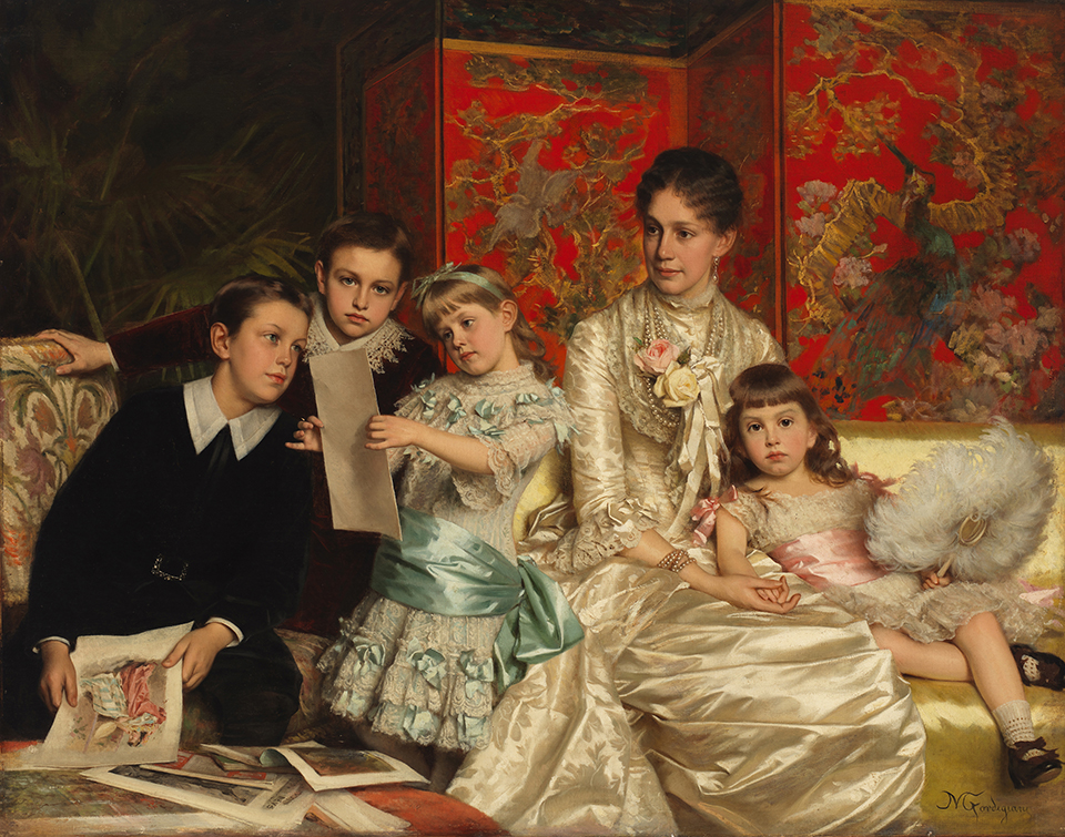 gilded age family