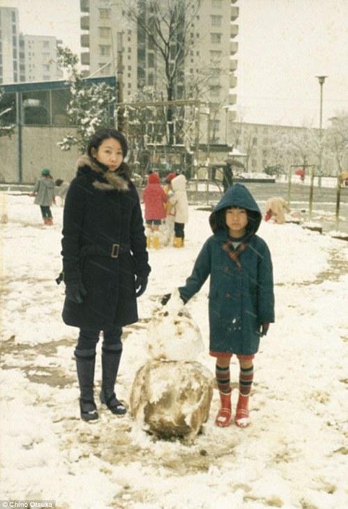 Japan snowman