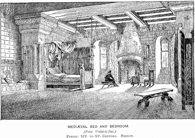 med bed and bedroom
