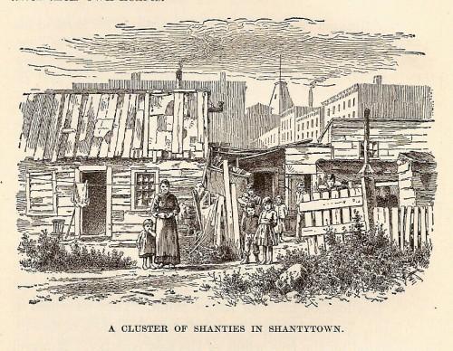 NY shantytown
