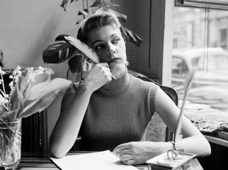 woman writing 4