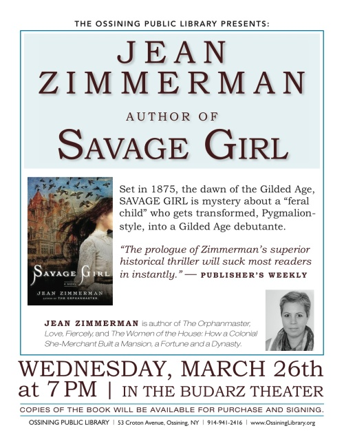 Jean Zimmerman Flier (March 2014)