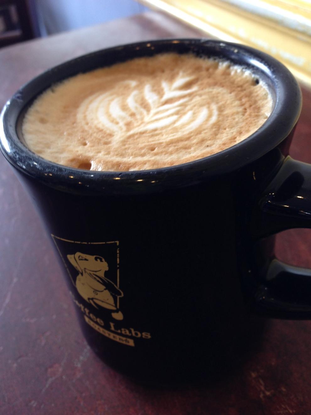 plain latte