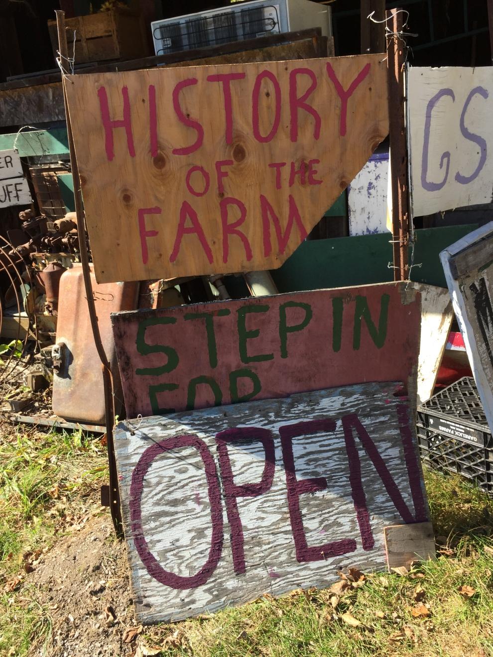history of the farm